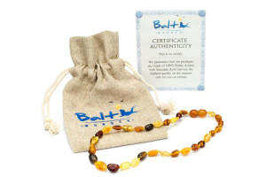 Baltic Wonder Amber Teething Necklace